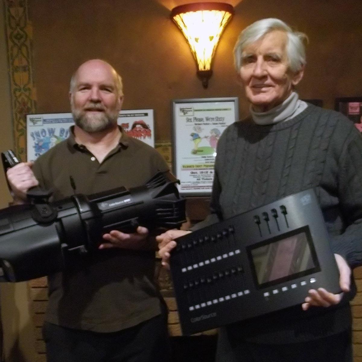 Photo of Lighting Equipment Donation